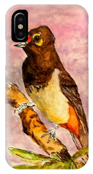 Orange-spotted Bulbul IPhone Case