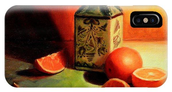 Orange Temptation, Peru Impression IPhone Case