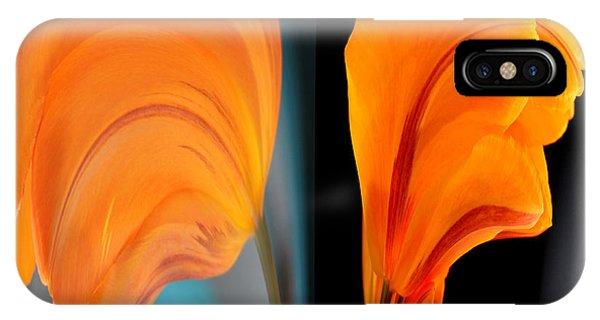 Orange Tulip Fellows IPhone Case