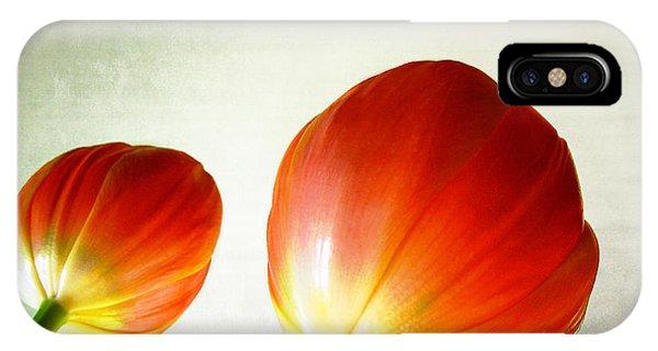 Orange Tulip Pops Phone Case by Julie Magers Soulen