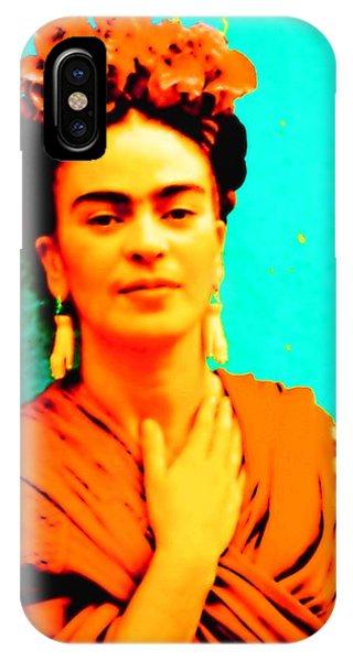Orange You Glad It Is Frida IPhone Case