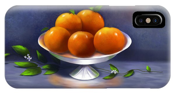 Oranges A La Carte IPhone Case