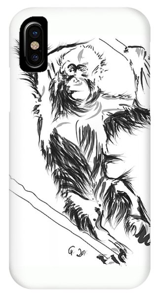 Orangutan 3 IPhone Case