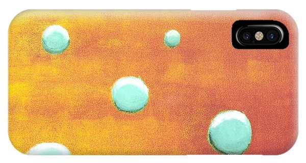Orbs In Space 2 -- Inverted Colors IPhone Case