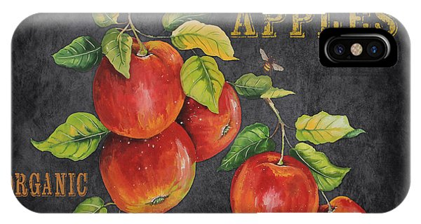 Orchard iPhone Case - Orchard Fresh Apples-jp2638 by Jean Plout