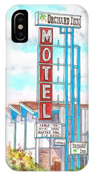 Orchard Inn Motel In Route 66 Andy Devine Ave - Kingman - Arizona IPhone Case