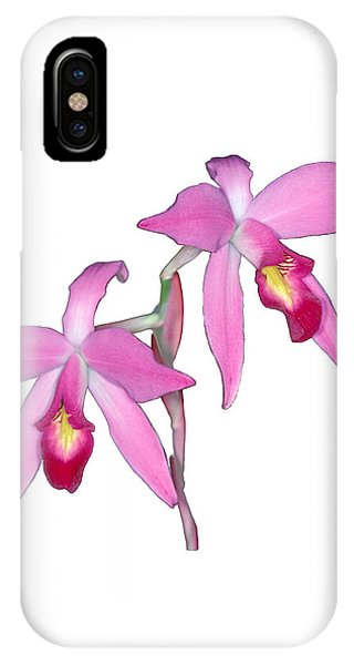 Orchid 1-1 IPhone Case
