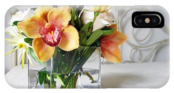 Orchid Bouquet IPhone Case