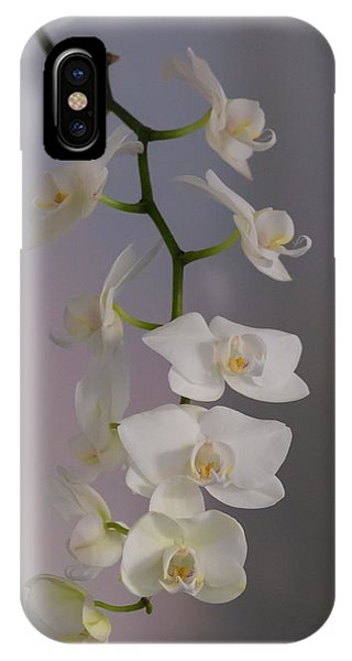 Orchid Cascade IPhone Case