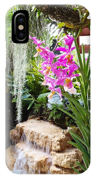 Orchid Garden IPhone Case