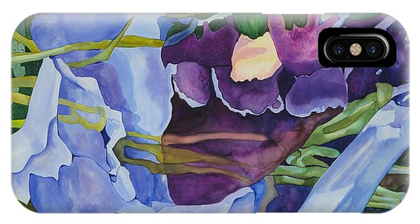 Orchid Rhapsody IPhone Case