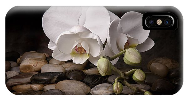 Beautiful iPhone Case - Orchid - Sensuous Virtue by Tom Mc Nemar
