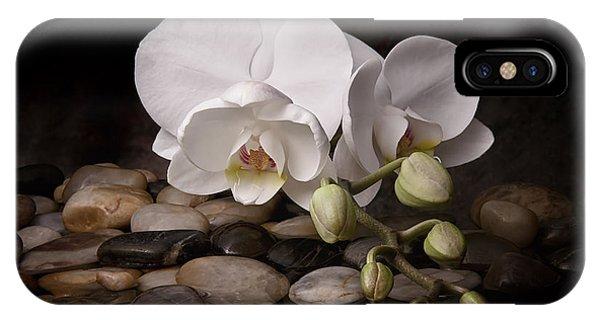 Garden iPhone Case - Orchid - Sensuous Virtue by Tom Mc Nemar