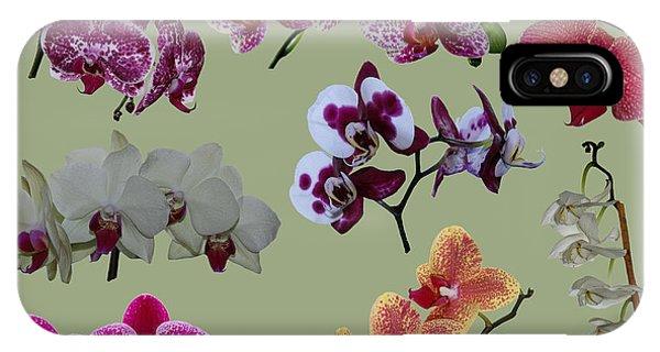 Orchid Splash IPhone Case