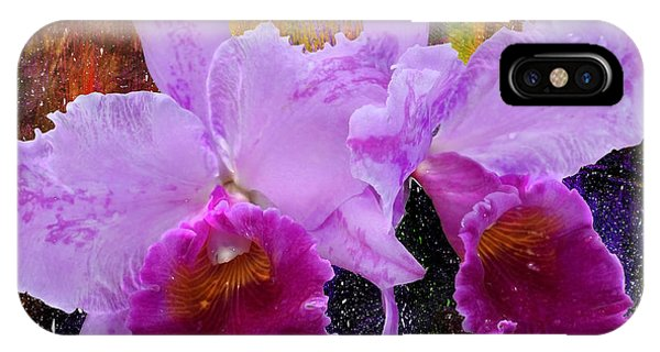 Orchids For Easter IPhone Case