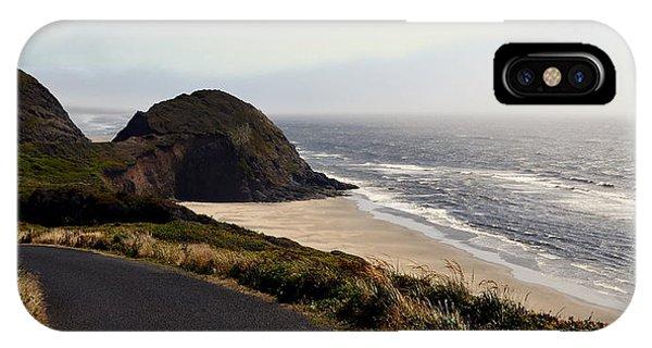 Oregon Coast And Fog IPhone Case