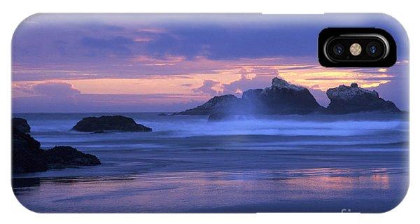 Oregon Coast Sunset IPhone Case