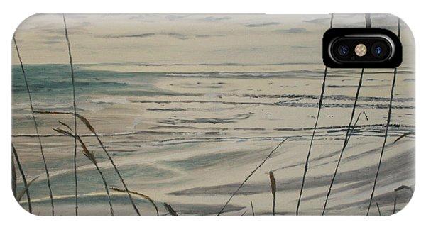 Oregon Coast With Sea Grass IPhone Case