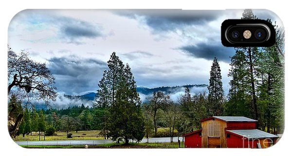 Oregon Farm Blessing IPhone Case