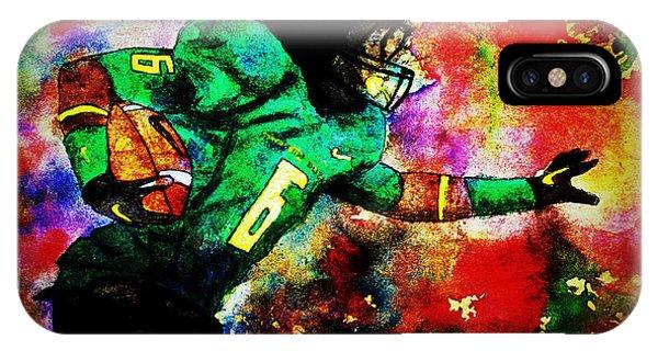 Oregon Football 3 IPhone Case