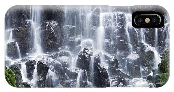 Waterfall iPhone Case - Oregon Ramona Falls by King Wu