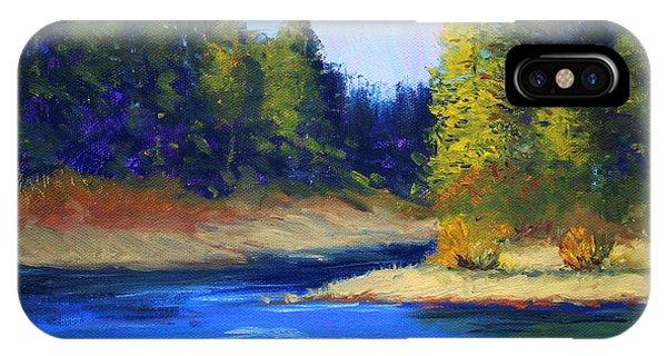 Oregon River Landscape IPhone Case
