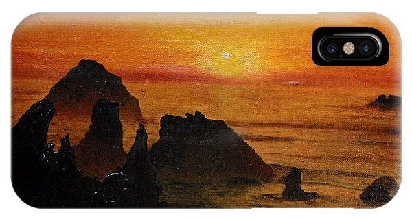 Oregon Sunset IPhone Case