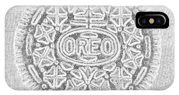 iPhone Case - Oreo In Grey by Rob Hans