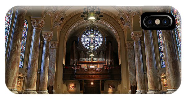 Organ iPhone Case - Organ -- Cathedral Of St. Joseph by Stephen Stookey