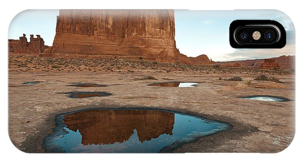 Organ Formation, Arches National Park IPhone Case