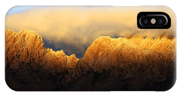 Organ Mountains Symphony Of Light IPhone Case
