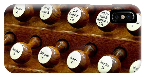 Organ Stop Knobs IPhone Case