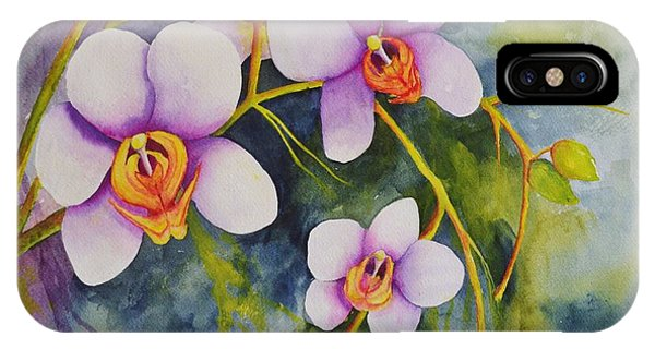 Orchids In My Garden IPhone Case
