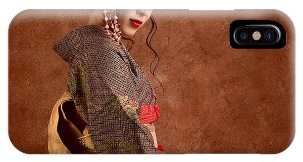 Oriental Beauty IPhone Case