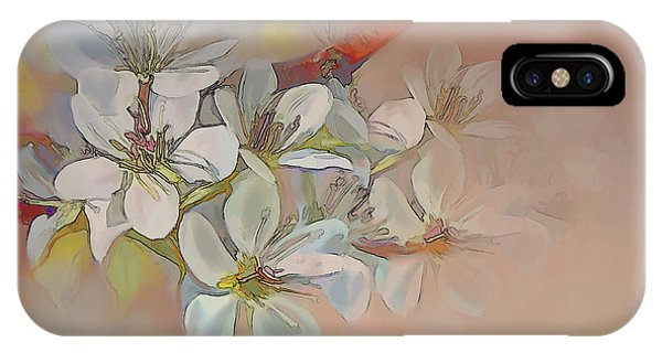 Oriental Pear Blossom Branch IPhone Case