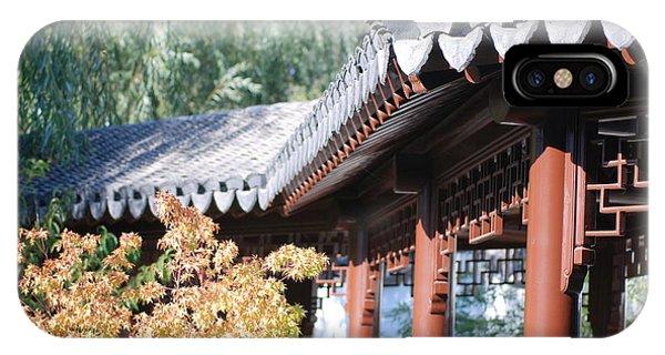 Oriental Roof IPhone Case