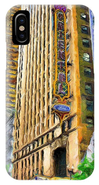 Oriental Theater Of Chicago IPhone Case