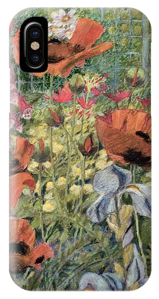 Flora iPhone Case - Orientals by Rosalie Bullock