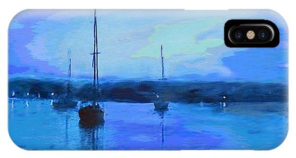 Original Digital Painting Quiet Evening IPhone Case