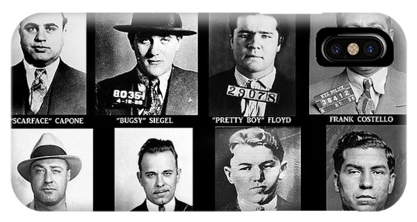 Original Gangsters - Public Enemies IPhone Case