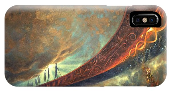Event iPhone Case - Origins by Lucy West