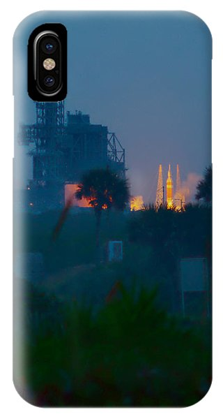 Orion Eft-1 Liftoff IPhone Case