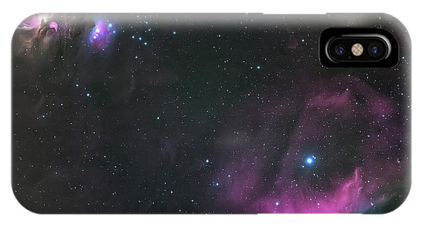 Space iPhone Case - Orion Nebula And The Horsehead by Andrea Auf Dem