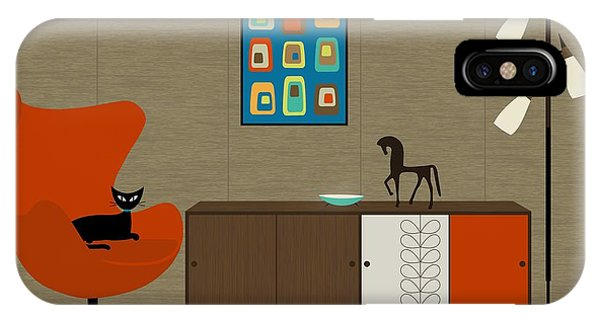 Orla Kiely Cabinet IPhone Case