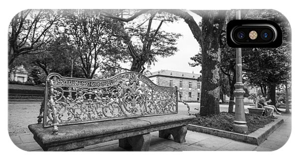 Ornate Bench IPhone Case