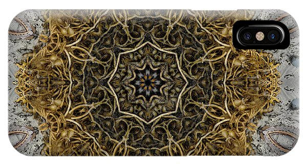 Ornate Inlay Dance Floor IPhone Case