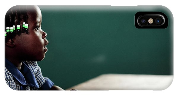 Classroom iPhone Case - Orphanage School by Mauro Fermariello/science Photo Library