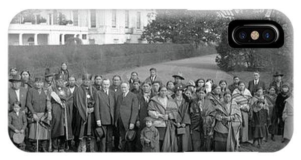 Osage Indians Washington Dc IPhone Case
