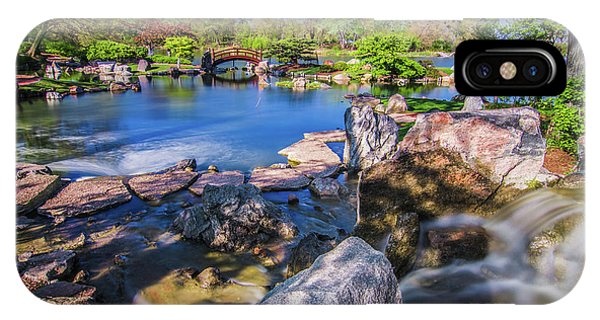 Osaka Japanese Garden IPhone Case