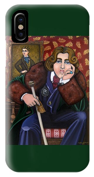 Oscar Wilde And The Picture Of Dorian Gray IPhone Case